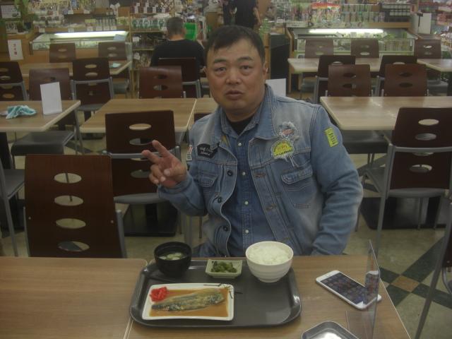 田中さん朝食