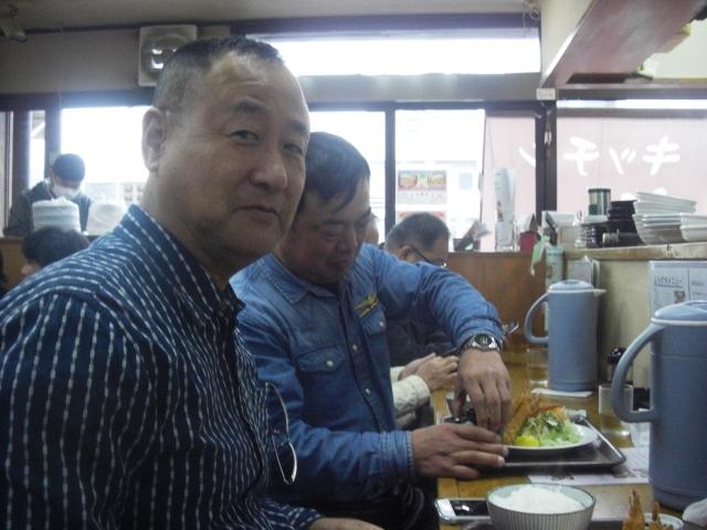 コマさん、田中さん