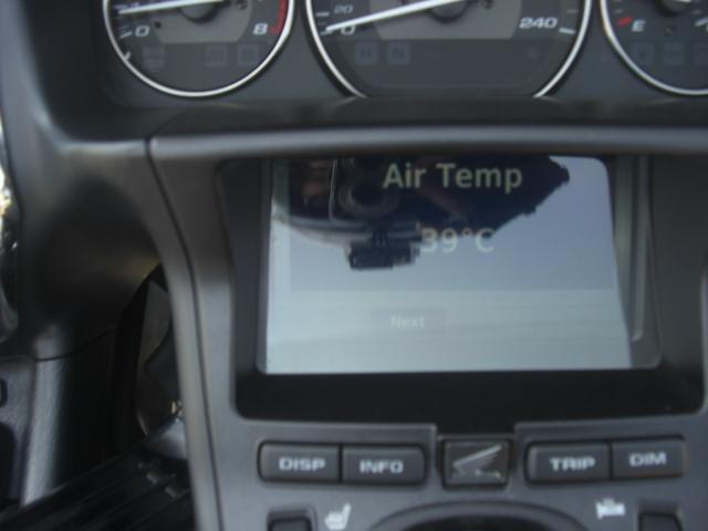 バイク温度