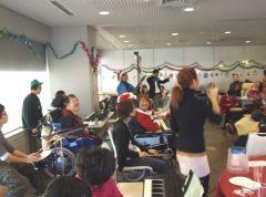2010年クリスマス会の様子①