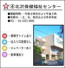 説明 梅ヶ丘★④北沢保健福祉センター