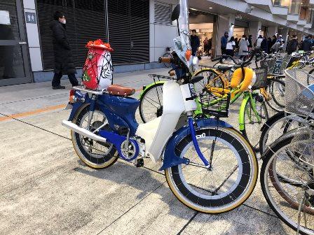 リアルな自転車