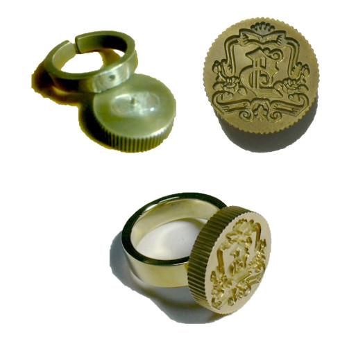 真鍮指輪修理