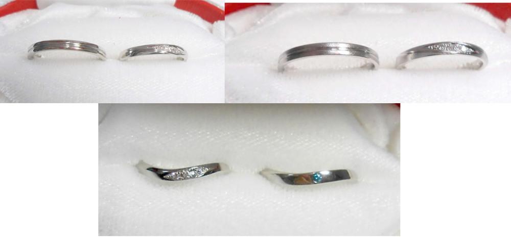 現在の結婚指輪です